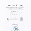 Auszeichnungen für die NMS Greifenburg 2017